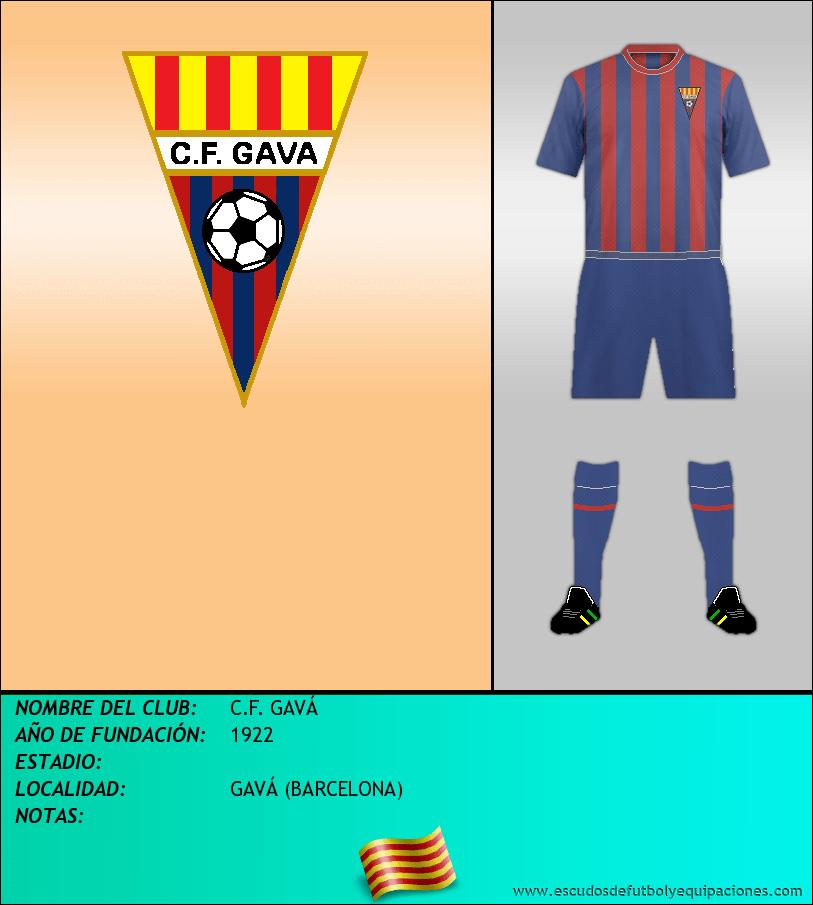 Escudo de C.F. GAVÁ