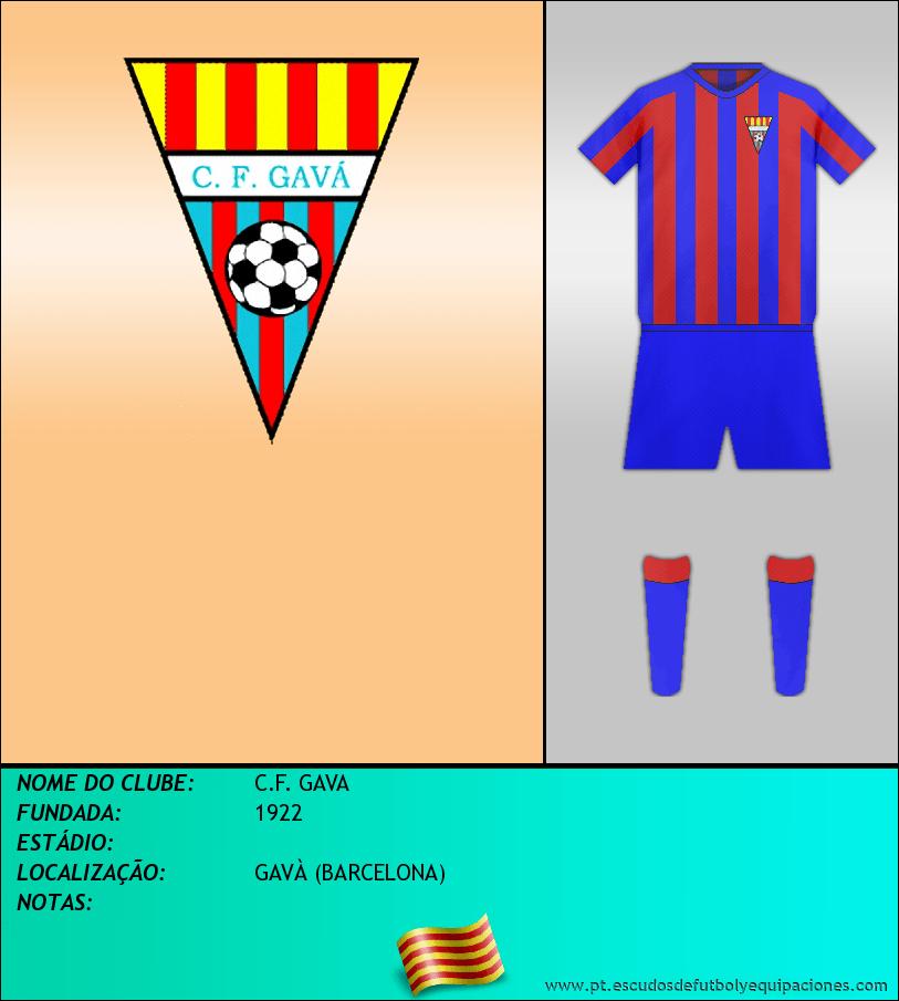 Escudo de C.F. GAVA