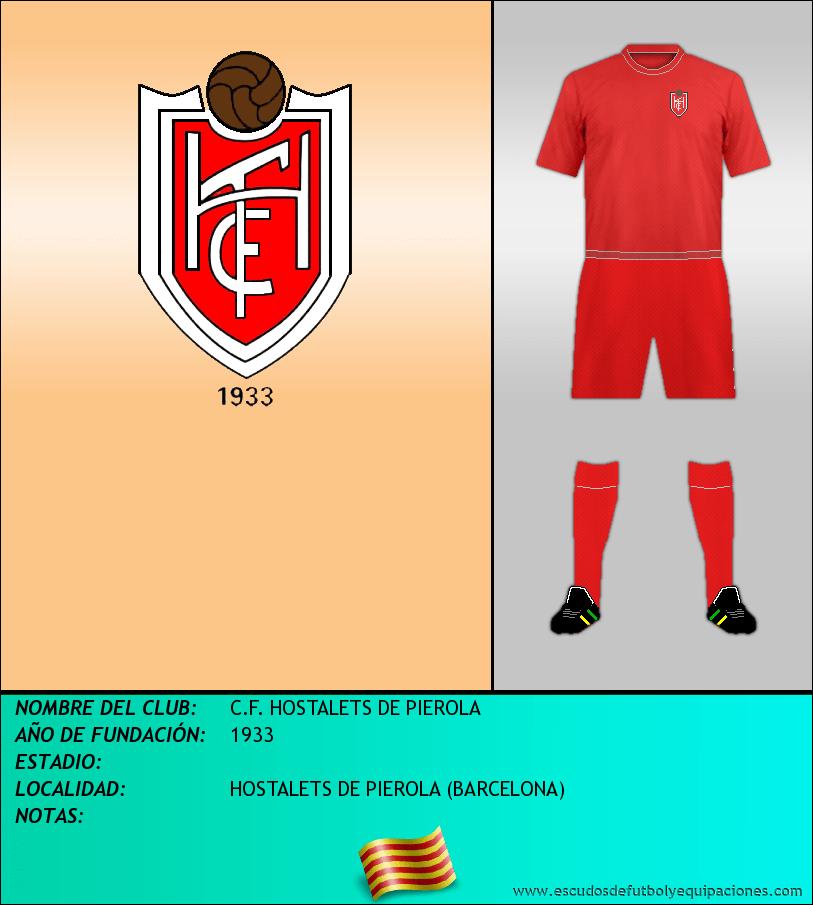 Escudo de C.F. HOSTALETS DE PIEROLA