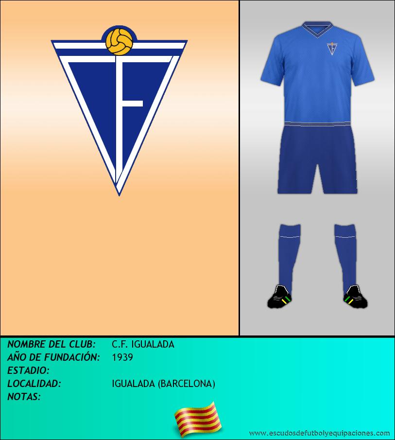Escudo de C.F. IGUALADA