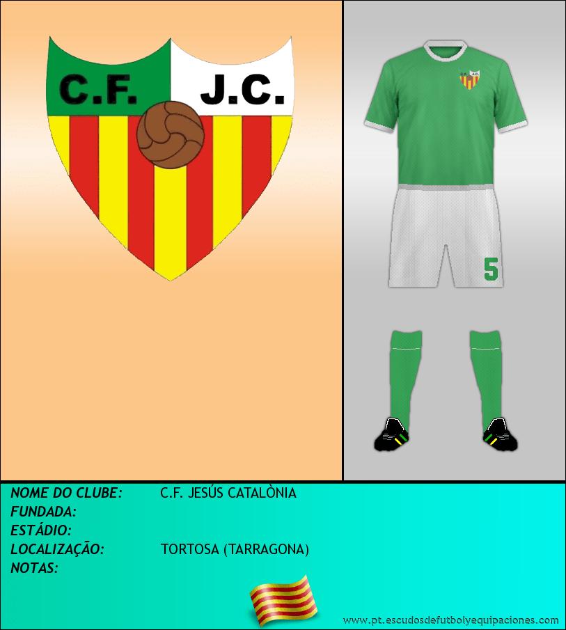 Escudo de C.F. JESÚS CATALÒNIA