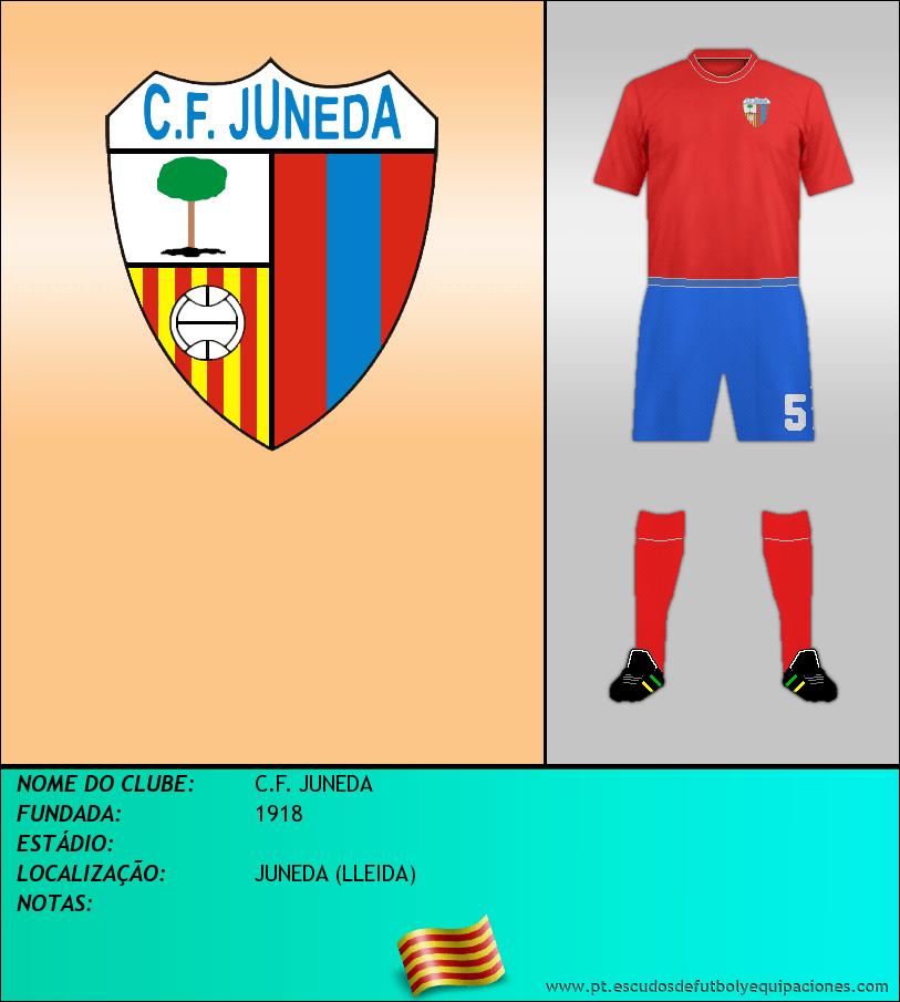 Escudo de C.F. JUNEDA