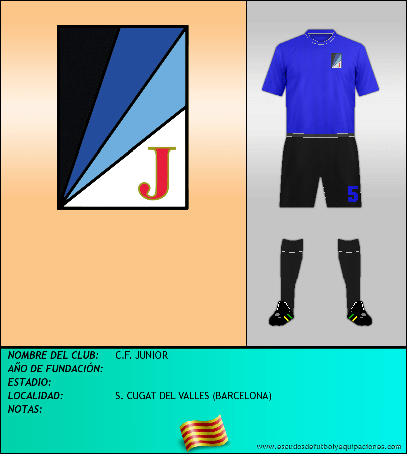 Escudo de C.F. JUNIOR