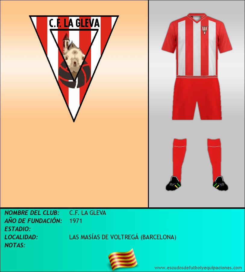 Escudo de C.F. LA GLEVA