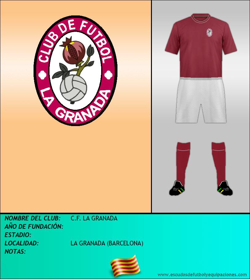 Escudo de C.F. LA GRANADA