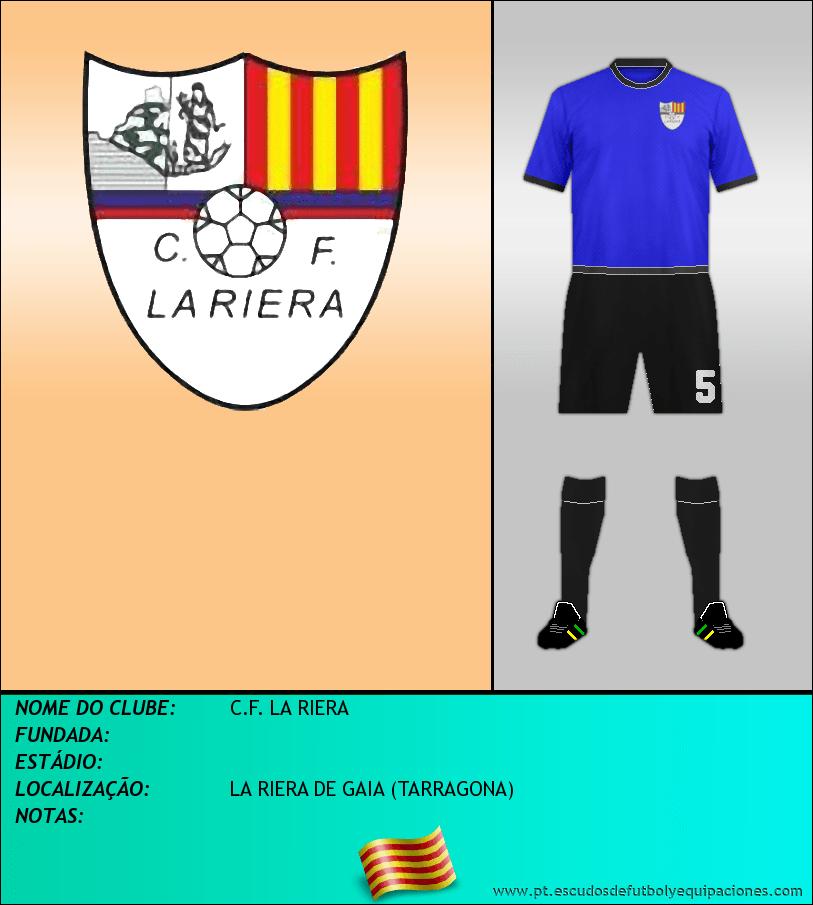 Escudo de C.F. LA RIERA