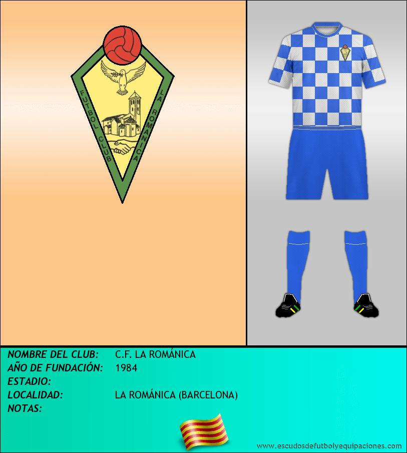 Escudo de C.F. LA ROMÁNICA
