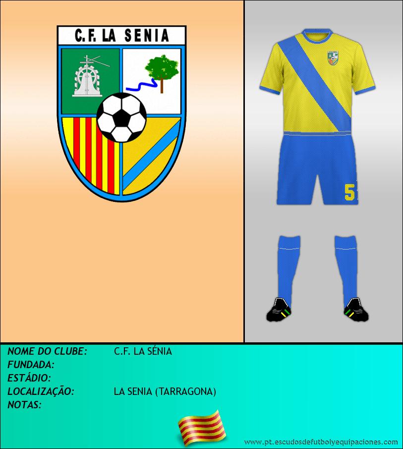 Escudo de C.F. LA SÉNIA