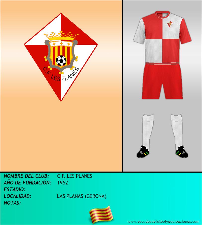 Escudo de C.F. LES PLANES