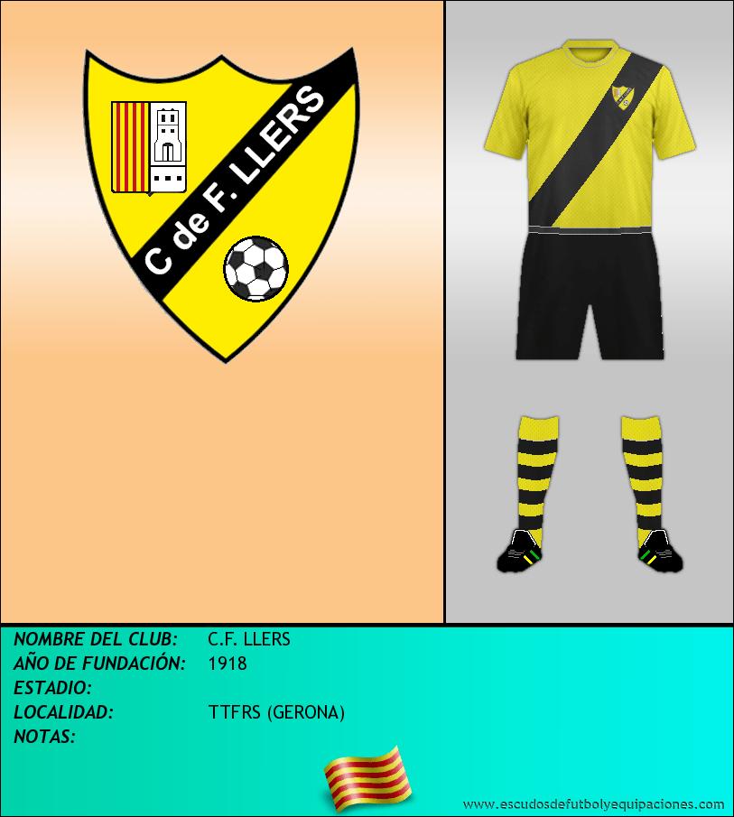Escudo de C.F. LLERS
