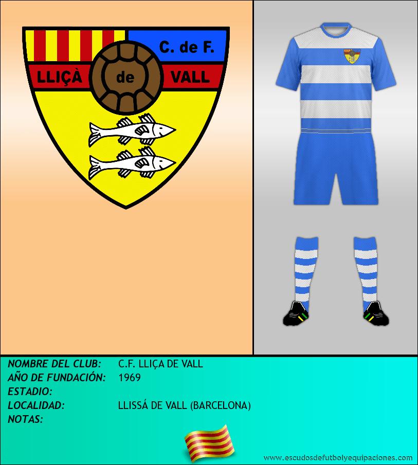 Escudo de C.F. LLIÇA DE VALL