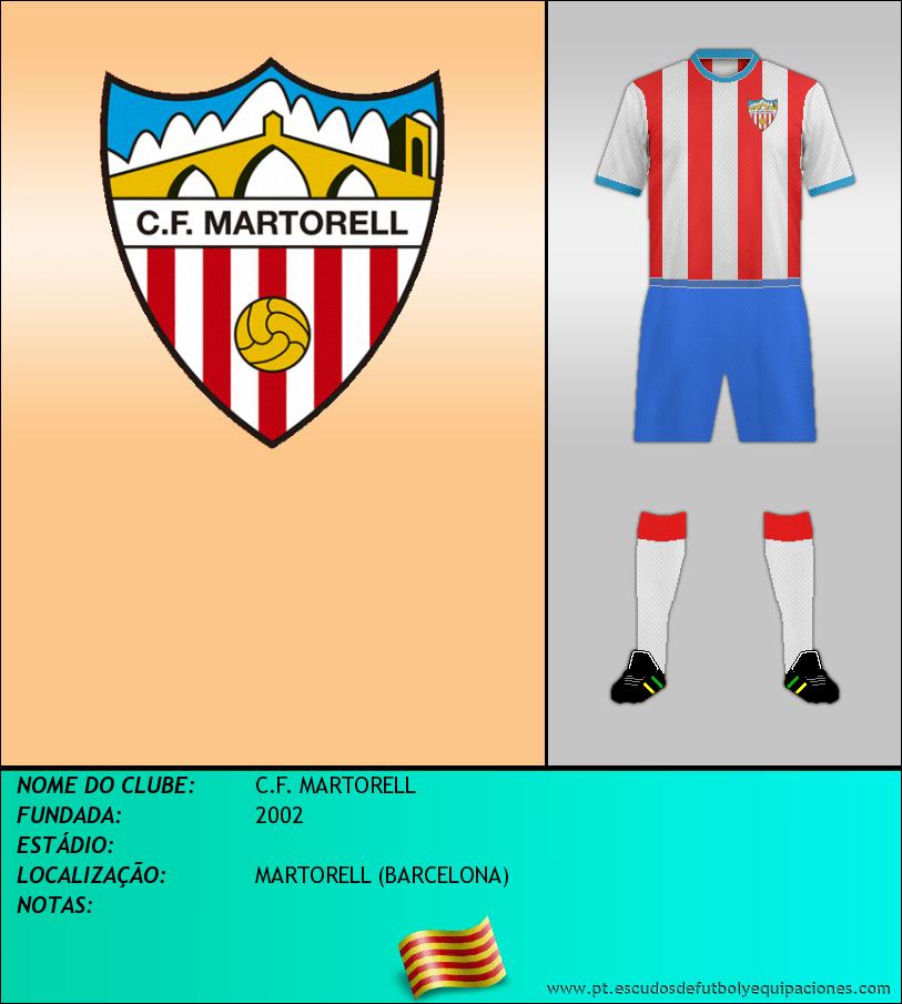 Escudo de C.F. MARTORELL