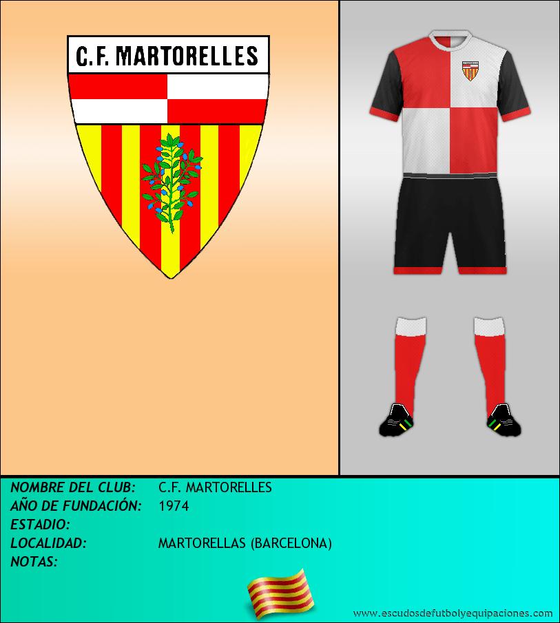 Escudo de C.F. MARTORELLES