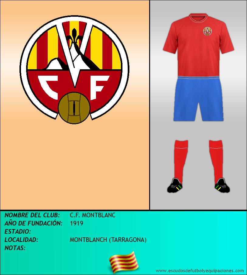 Escudo de C.F. MONTBLANC