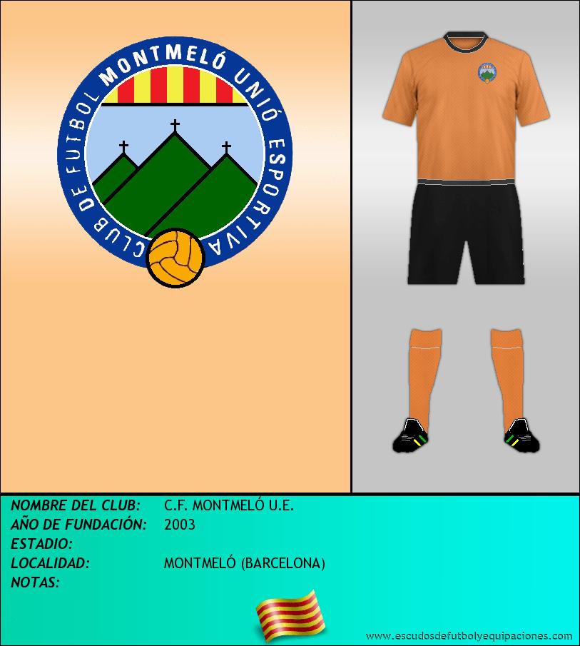 Escudo de C.F. MONTMELÓ U.E.