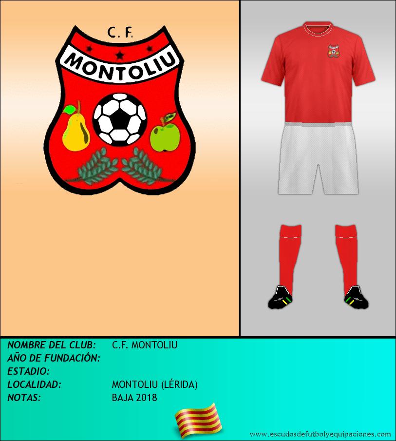 Escudo de C.F. MONTOLIU