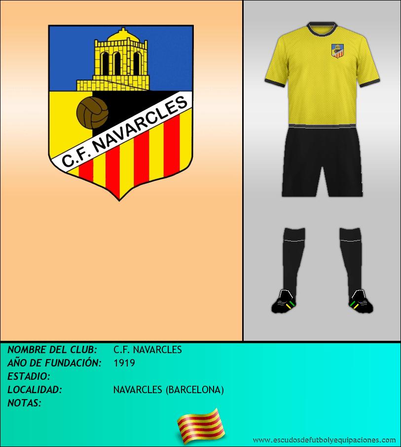 Escudo de C.F. NAVARCLES