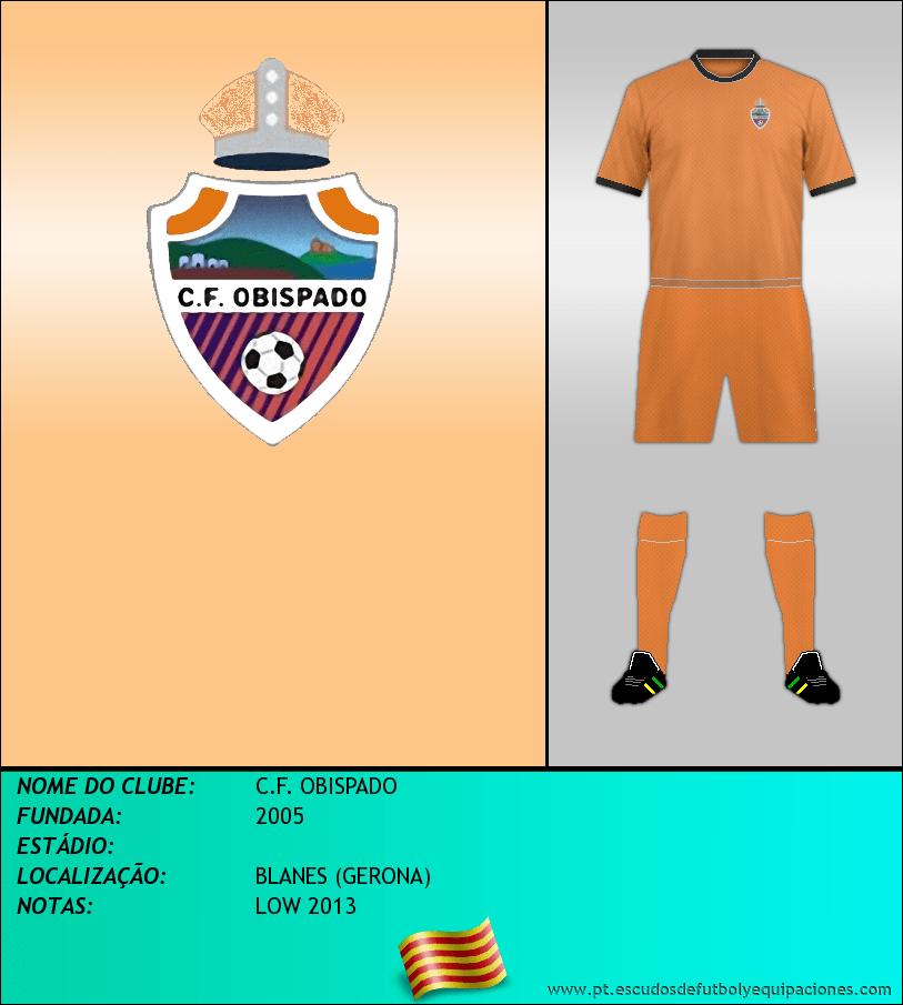 Escudo de C.F. OBISPADO
