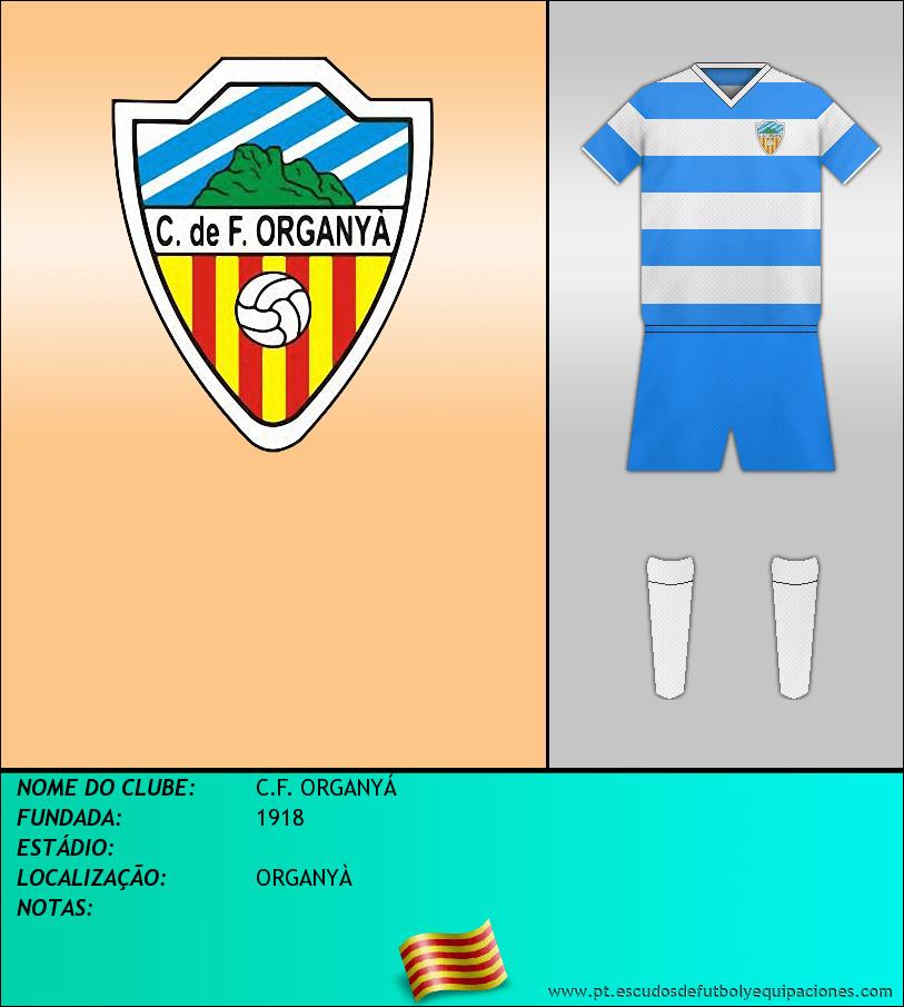 Escudo de C.F. ORGANYÁ