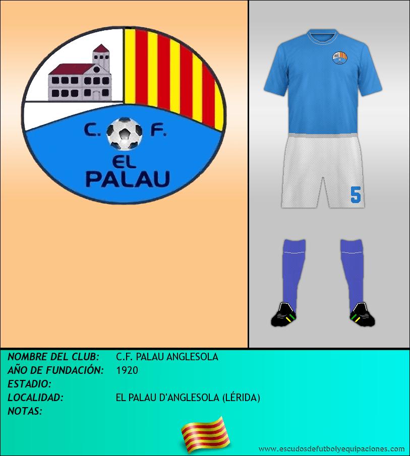 Escudo de C.F. PALAU ANGLESOLA
