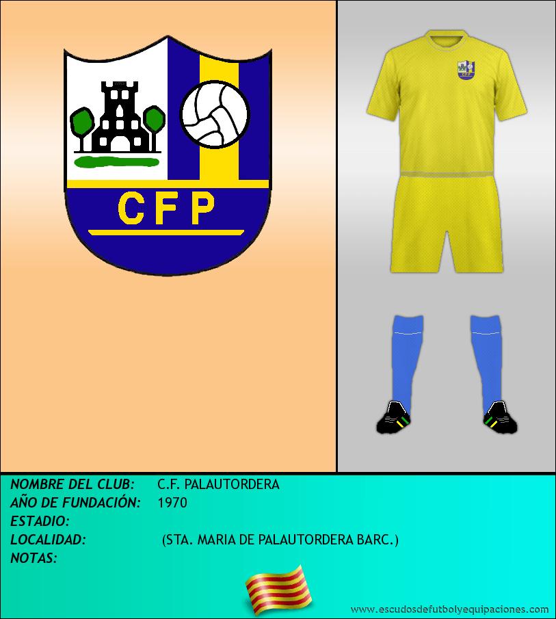 Escudo de C.F. PALAUTORDERA