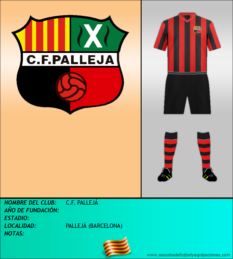 Escudo de C.F. PALLEJÁ
