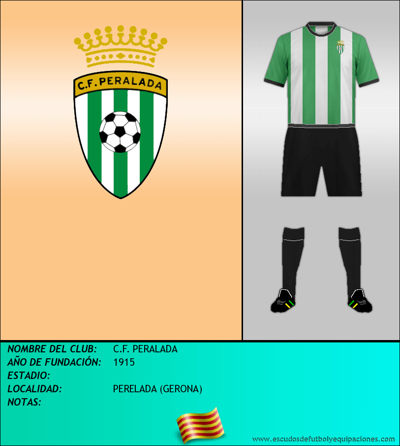 Escudo de C.F. PERALADA