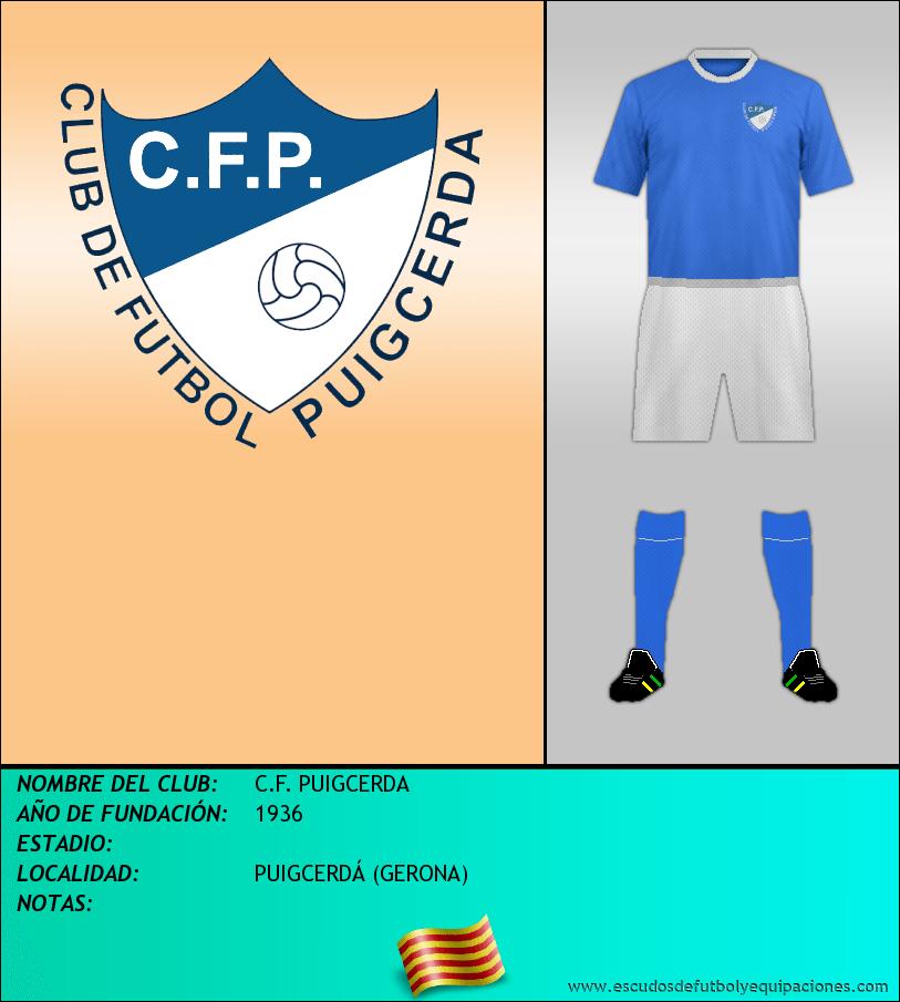 Escudo de C.F. PUIGCERDA