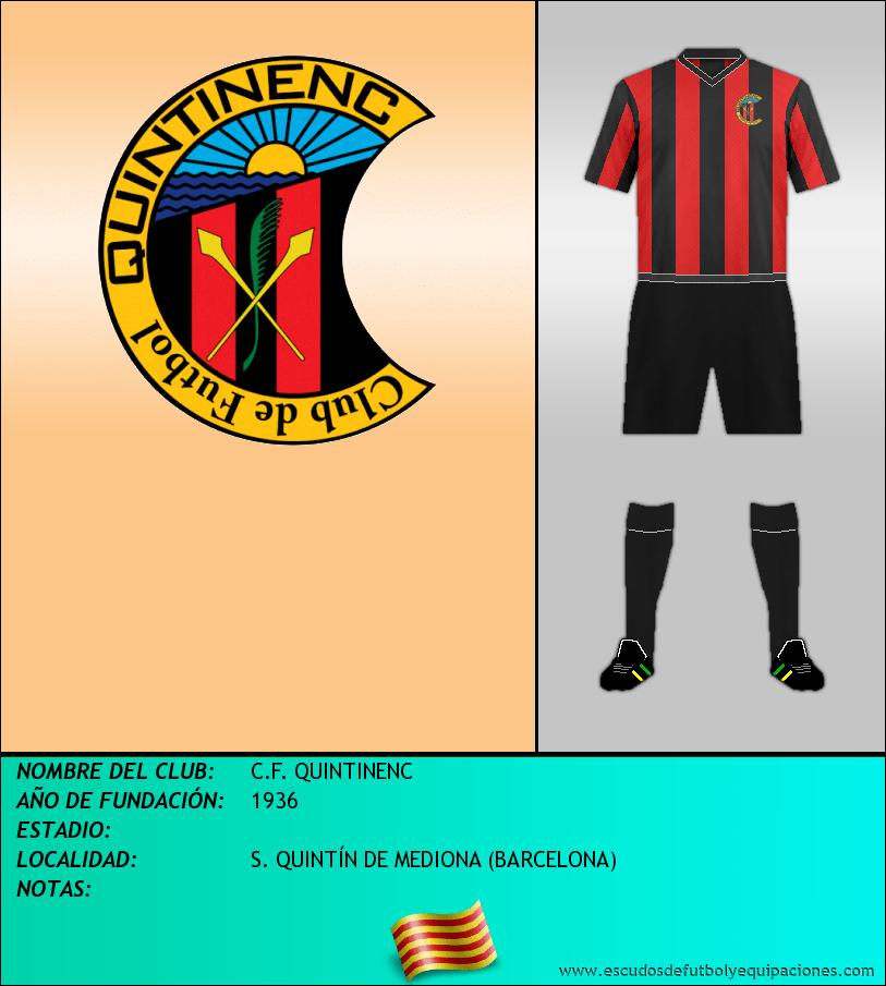 Escudo de C.F. QUINTINENC