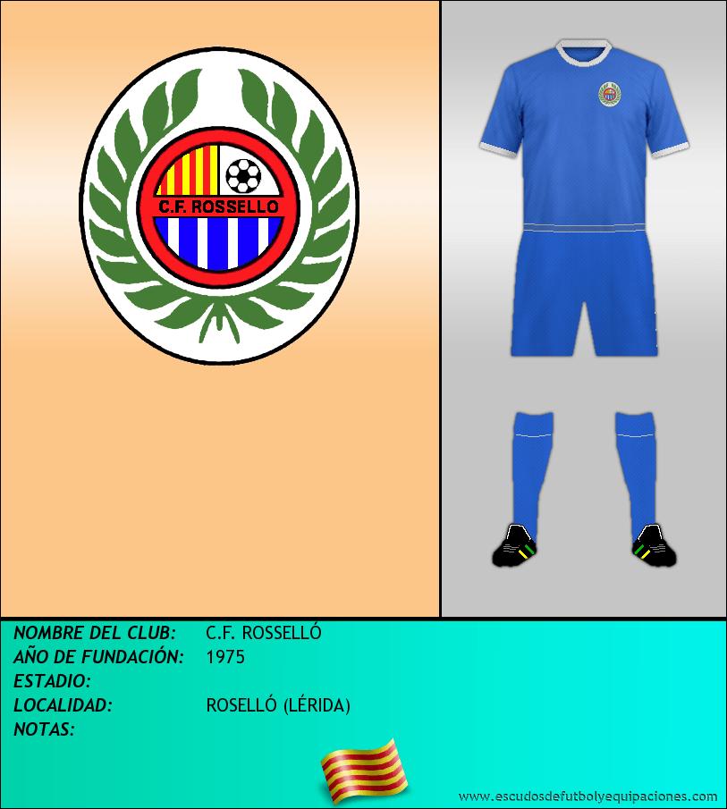 Escudo de C.F. ROSSELLÓ