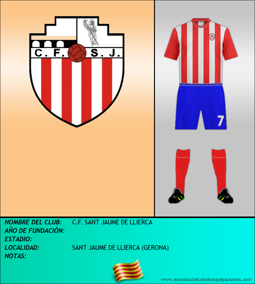 Escudo de C.F. SANT JAUME DE LLIERCA