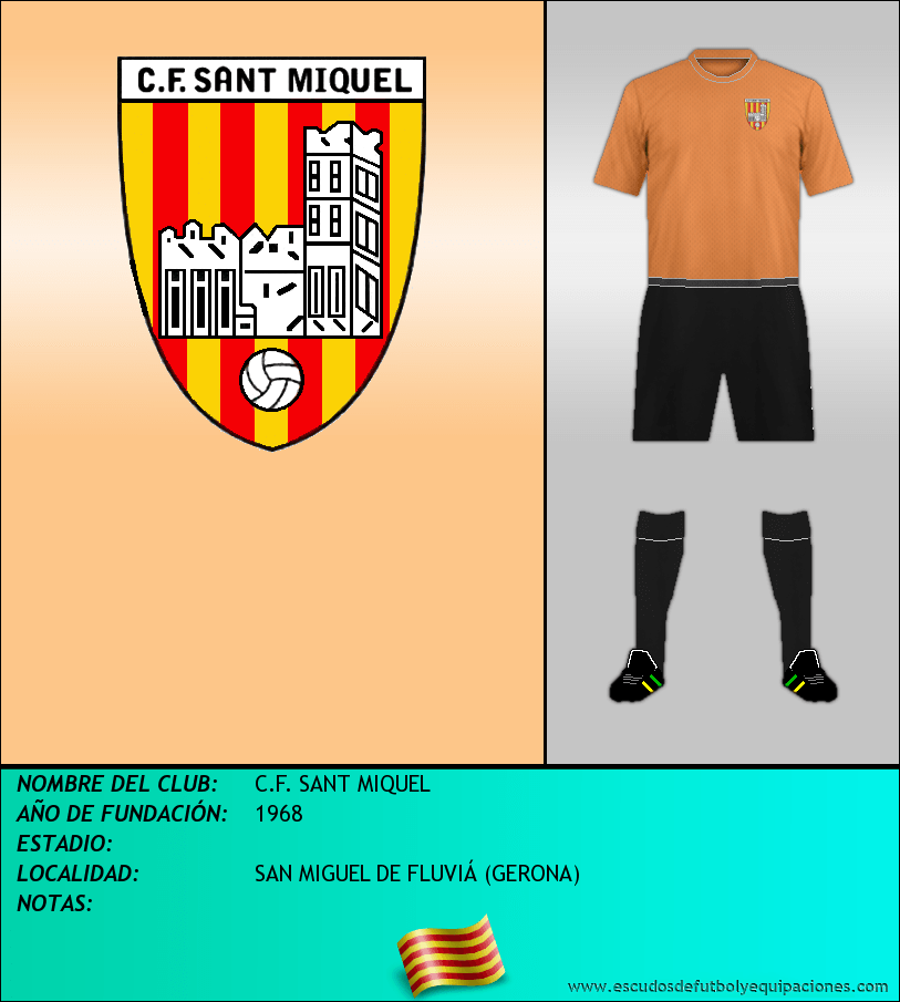 Escudo de C.F. SANT MIQUEL