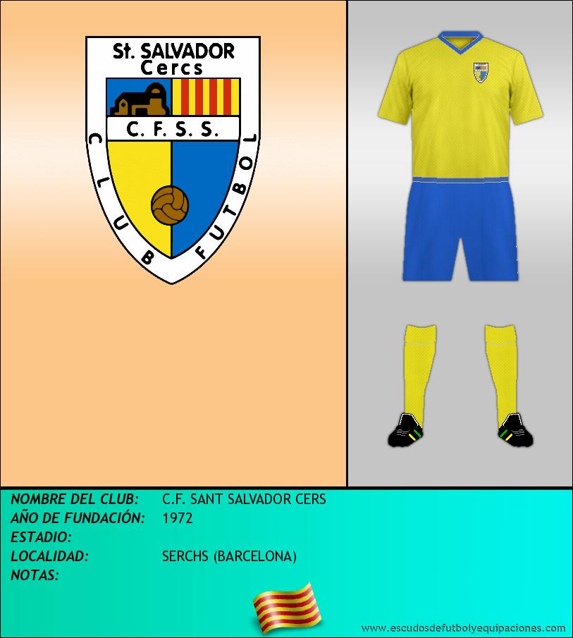 Escudo de C.F. SANT SALVADOR CERS