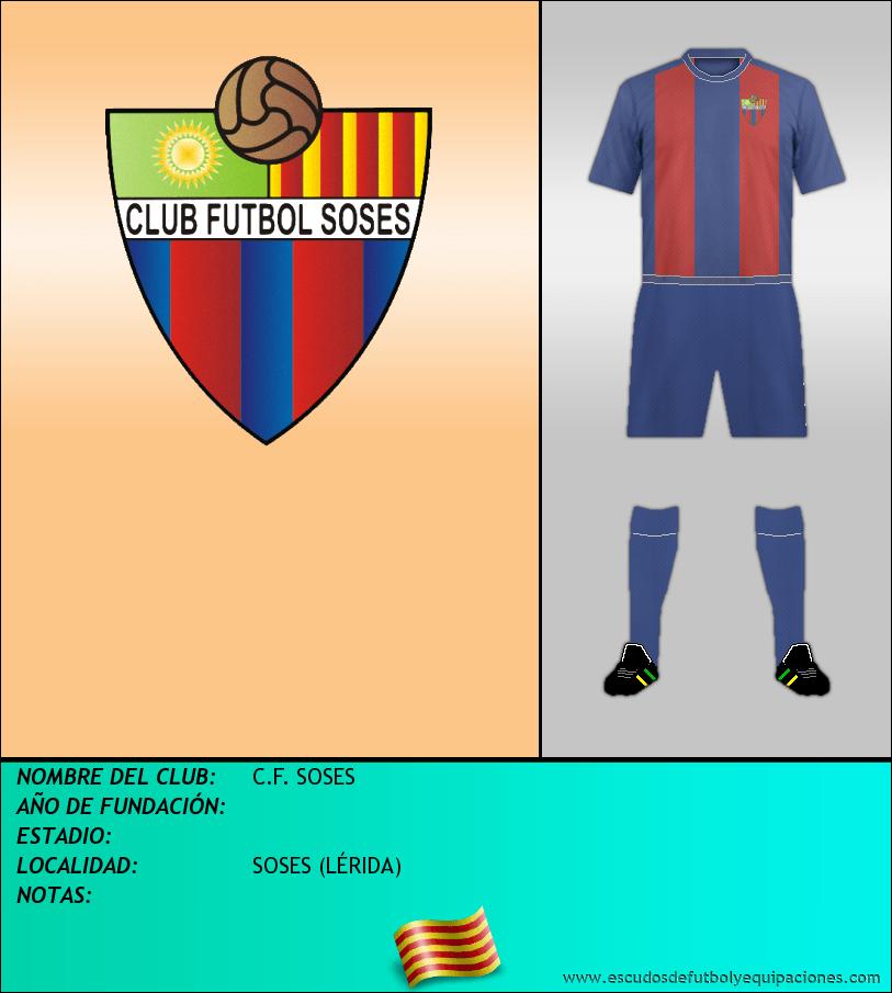 Escudo de C.F. SOSES