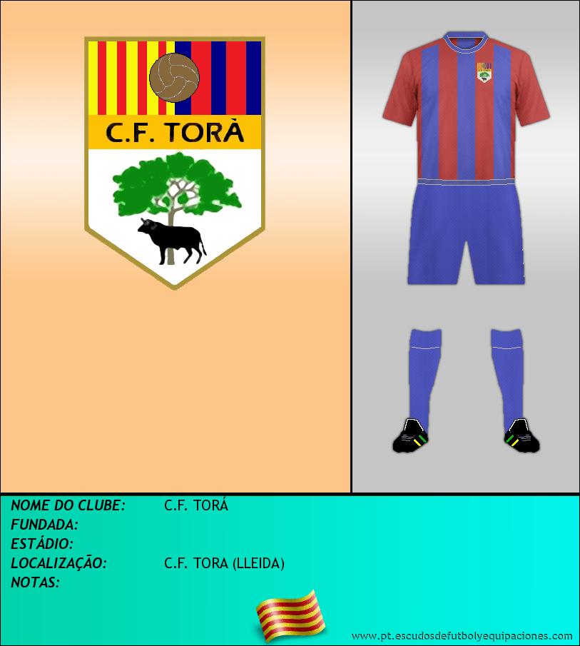 Escudo de C.F. TORÁ