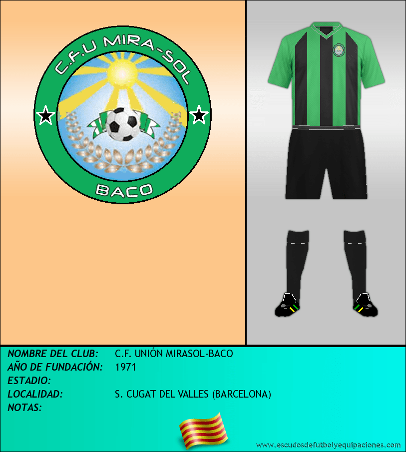 Escudo de C.F. UNIÓN MIRASOL-BACO