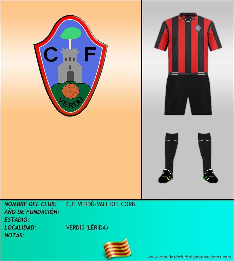 Escudo de C.F. VERDÚ-VALL DEL CORB