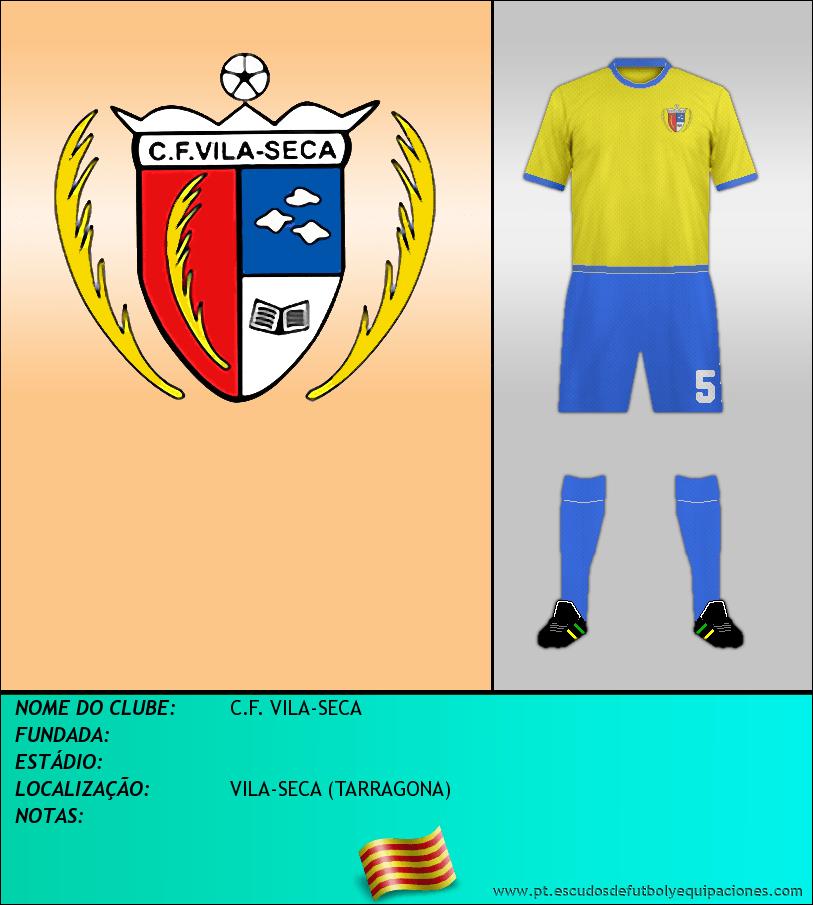 Escudo de C.F. VILA-SECA