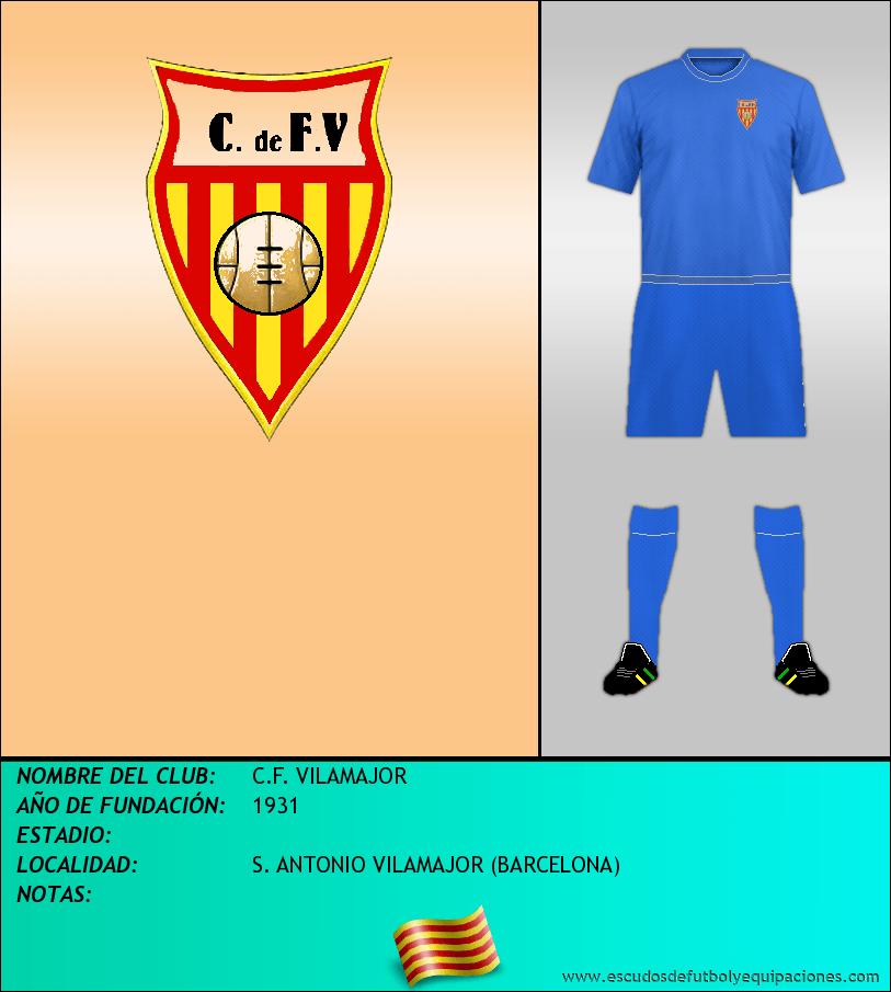 Escudo de C.F. VILAMAJOR
