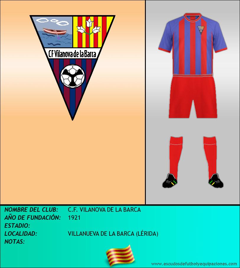 Escudo de C.F. VILANOVA DE LA BARCA