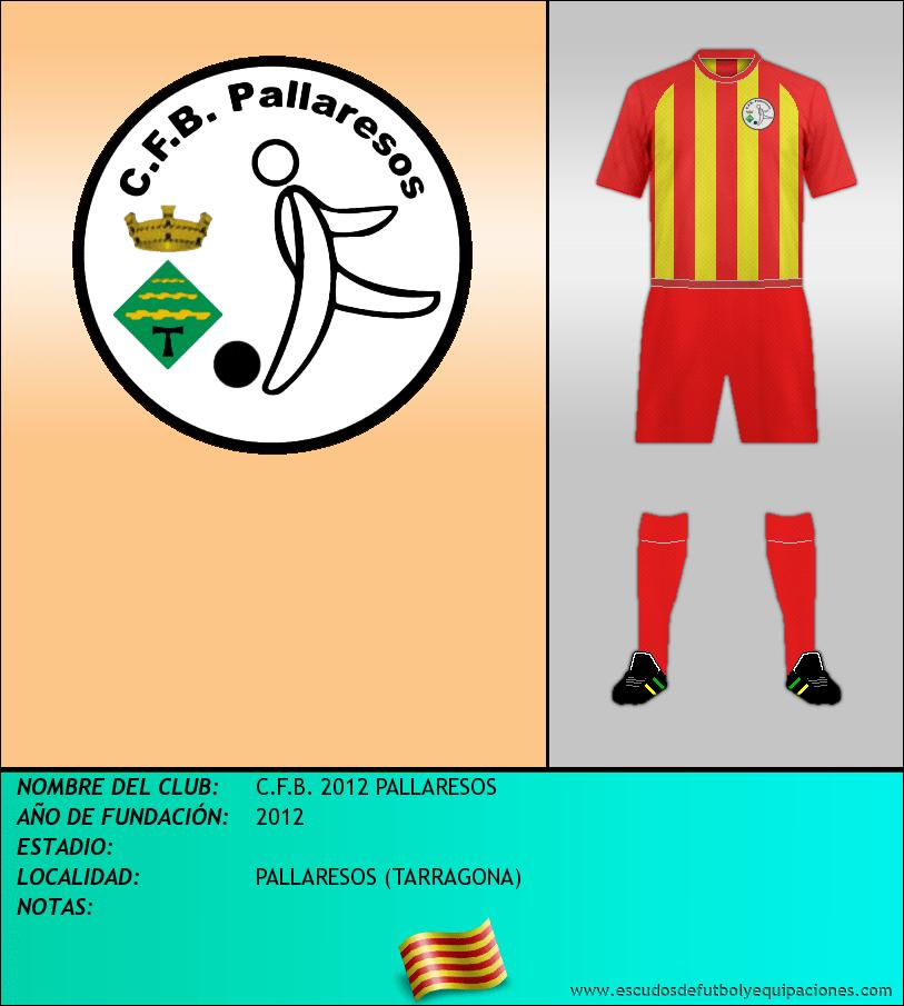 Escudo de C.F.B. 2012 PALLARESOS