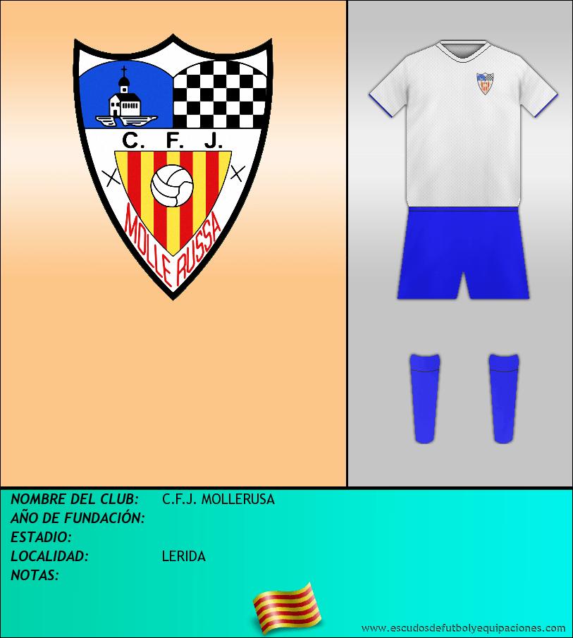 Escudo de C.F.J. MOLLERUSA