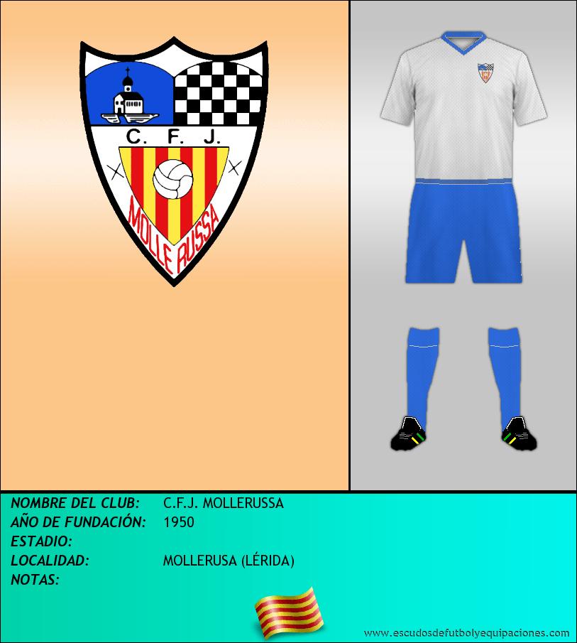 Escudo de C.F.J. MOLLERUSSA