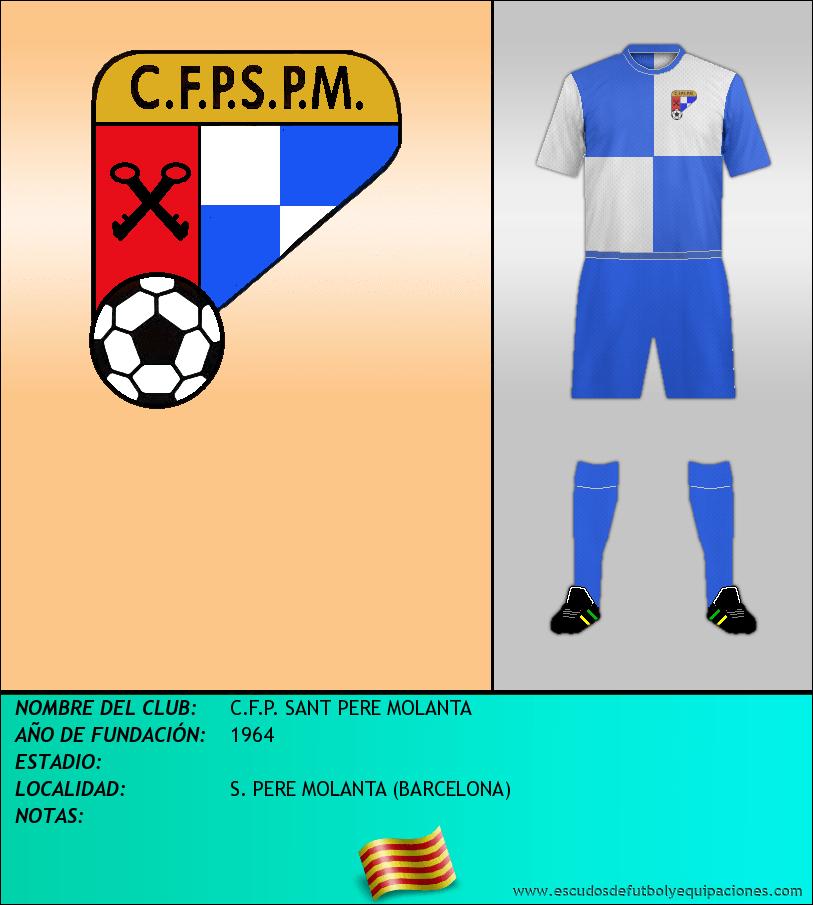 Escudo de C.F.P. SANT PERE MOLANTA