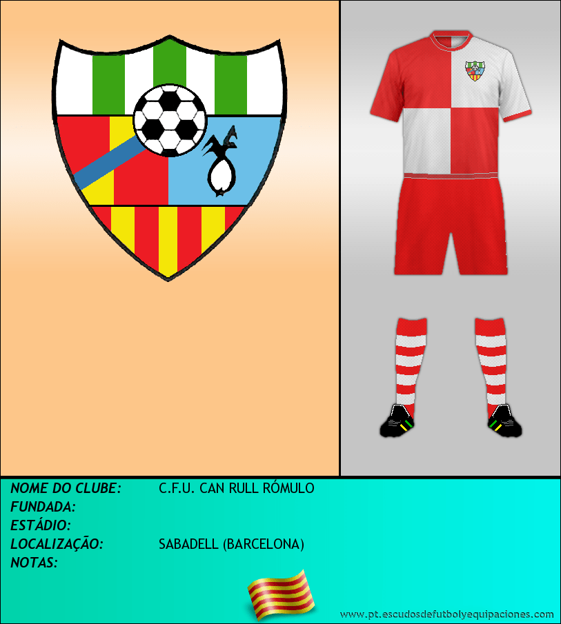Escudo de C.F.U. CAN RULL RÓMULO