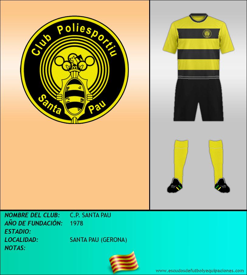 Escudo de C.P. SANTA PAU