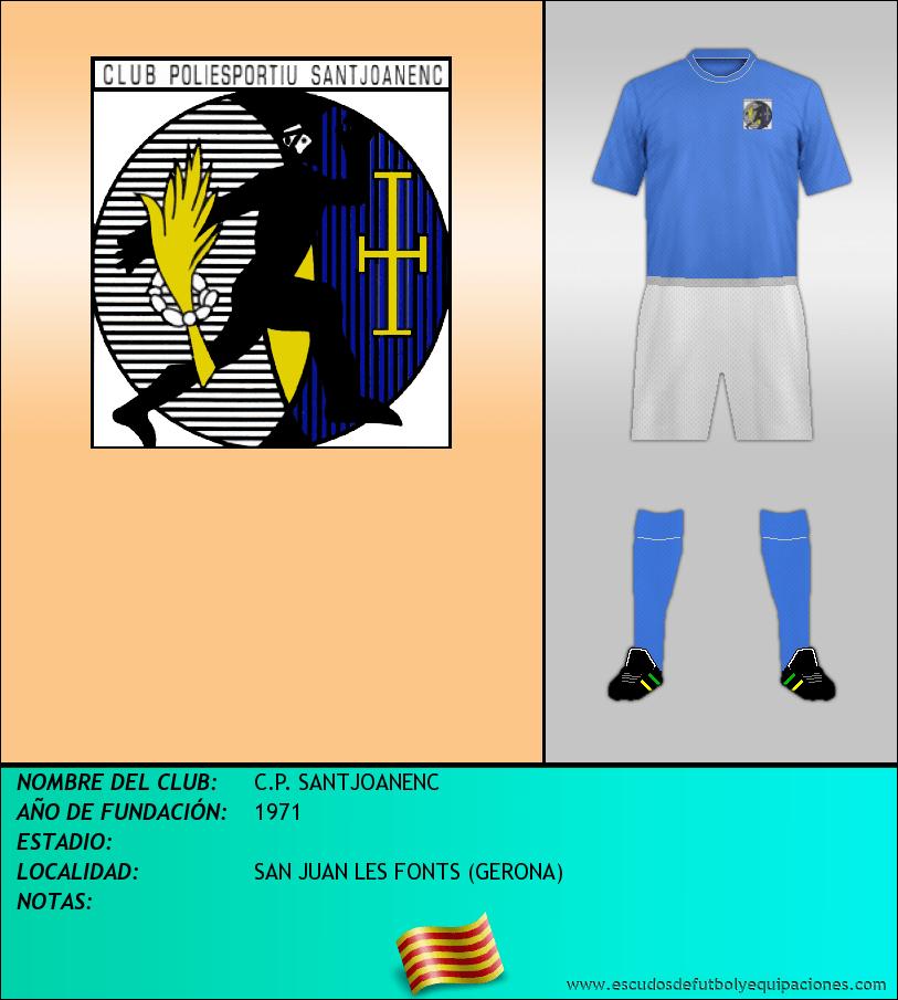 Escudo de C.P. SANTJOANENC