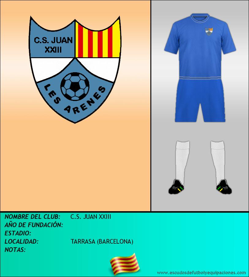 Escudo de C.S. JUAN XXIII