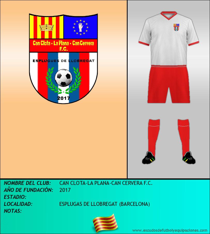 Escudo de CAN CLOTA-LA PLANA-CAN CERVERA F.C.