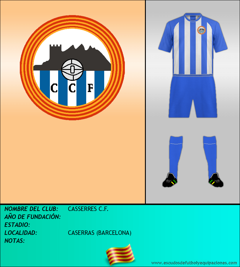 Escudo de CASSERRES C.F.